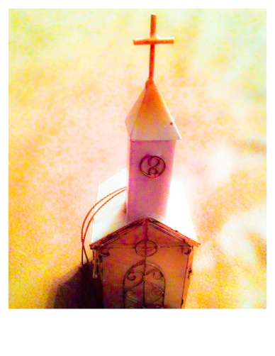 Little church ornament